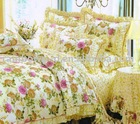 circle printed comforter sets/poly cotton comforter bedding sets