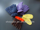 Promotional children 100% Acrylic knitted/polar fleece/ski gloves