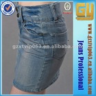 2012 Fashion A-Line Denim Skirts