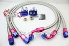 10AN OIL ADAPTOR AND FILTER RELOCATION HOSE KIT