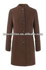 Ladies Wool Funnel Coat