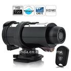 Remote Control Waterproof Sport Camera 720P