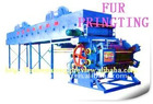 Five roller man-made fur printing machine