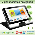 Hot Selling 7 inch Car Multimedia Navigation System With free 4GB Nand Flash