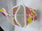 New Style Plastic PP Material Dustbin/Trash With Cover & Welcome customised