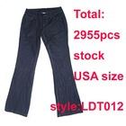 Ladies Fashion stock denim jeans