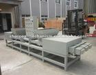 wood pallet block making machine