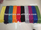 2012 Hot Fashion Colors Best selling pashmina Scarf