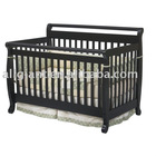solid wooden baby cot AG201103