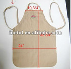 100% Polyester Adjustable Kitchen Apron/cook apron