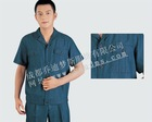 JM216(Short-Sleeved) Suitable Denim Uniforms Clothing