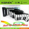 49 keys mini silicone keyboard roll up electronic piano