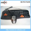Good quality Wired Gaming keyboard mouse combo