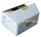Sophisticated Printed Corrugated Box for 12 health medicine bottles of Health Product Packing