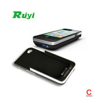 RUIYI MOV P8 Fashionable Handheld Pocket DLP Mini Projector Multimedia Cinema Projector for iPhone 4/4S with Backup Battery