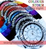 Free Shipping 2011 2012 Classic Gel Silicone Crystal Men Lady Jelly Watch Gifts Stylish Fashion Luxury wholesale