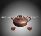 Yixing Purple Clay Teapot Sets, Chinese Style Handmade