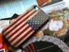 Flag design protective case for iphone 4S