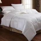 100% cotton white duck down quilt