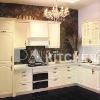 Solid wood kitchen furniture - Green village kitchen cabinet