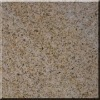 yellow rust granite stone