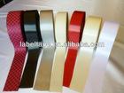 Slitted Edge Polyester Satin Printed Ribbon