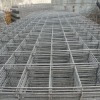 Galvanized mesh fence panel