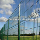 Hot sale in European countries PVC coated wire mesh fencing designs