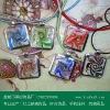 new style glass pendant (2011 fashion pendnat)