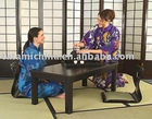 Japanese Tatami Room Traditional Wooden Rectangle Tea Table