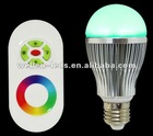rgb led bulb remote control(with CE&ROHS Approval)