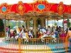 Attractive playground equipment carousel deluxe in 16 seats