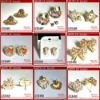 2012 wholesale latest cute clip earrings