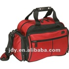 Durable red travel sports bag