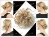 beautiful synthetic chignon hair piece