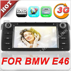 Wholesale 7'' HD Touch screen 2 din GPS navigator for BMW3(E46)(1998-2006) with 3G function optional