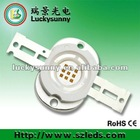 10W red led 600nm 620nm 660nm 665nm Epileds 42mil chip with 3 years warranty