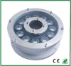 304 stainless steel waterproof IP68 12W DMX RGB garden fountain light