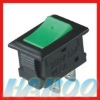electrical rocker switch 3A 125V, 1A 250V