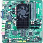 Support On board E350 Duo 1.6G CPU,graphics, sound card,network cardMINI ITX motherboard