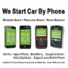 iphone Remote start engine+Real time GPS Tracking+GSM Alarm