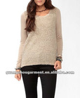2012 Winter High-Low Boucle Tops
