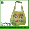 hot sale recycled non-woven shopping bag