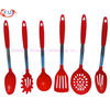 Set of 6 pcs Discount Kitchen Utensils Set, Colorful FDA Silicone Material Coated