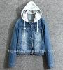 LD-WT086 =Lady Denim jacket,Korean jacket,Fashion jacket