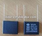 metallized polypropylene capacitor for ac motor