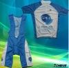 Custom cycling jersey and bib shorts