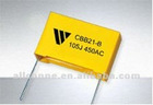 CBB21-B Metallized polypropylene film capacitor 400V 0.18uf (Box type)