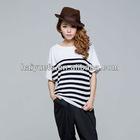 2012 Ladies short sleeve pima cotton t shirt wholesale