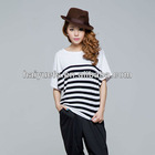 2012 Ladies short sleeve pima cotton t shirt wholesale